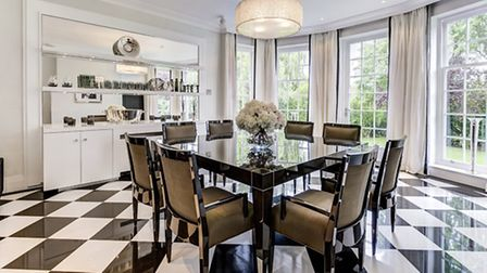 Five bedroom house in Hampstead Garden Suburb N2. Available through Glentree Estates for �7,750,000