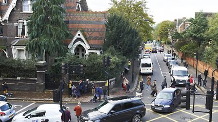 The daily school-runs cause traffic queues in Fitzjohn's Avenue and Arkwright Road. Picture: St Anth