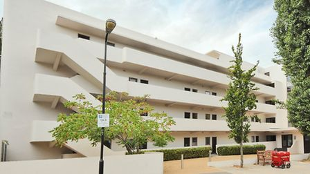 The Isokon building on Lawn Road, Hampstead NW3. KFH has a one bedroom flat for sale in the building