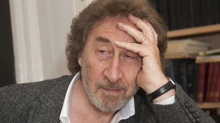 Howard Jacobson at the LJCC. Picture: Nigel Sutton.