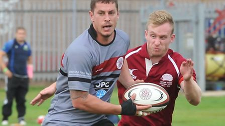 Dylan Oudshoorn in action for UCS Old Boys. Pic: Nick Cook/UCS Old Boys RFC