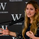 Author Laura Bates spoke and signed books at Waterstones in Hampstead after the man was asked to lea