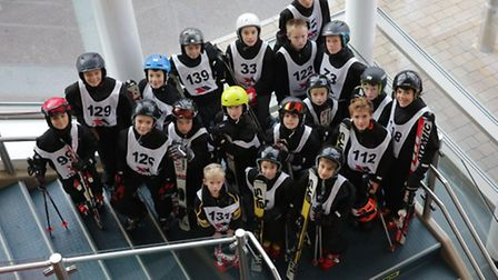 The Hall School sent six teams and 22 boys to the British Independent Schools ski race at the Hemel
