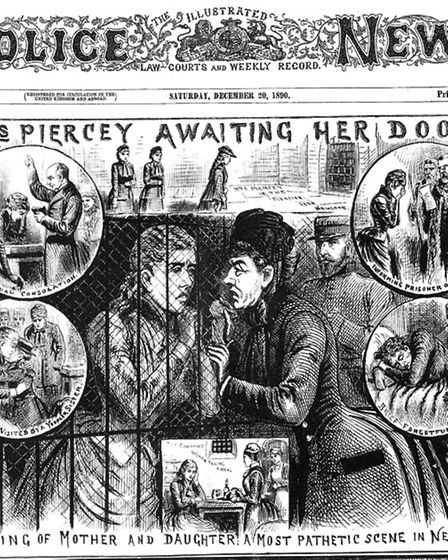 Illustration of Mary Pearcey. Picture: Fortean Times