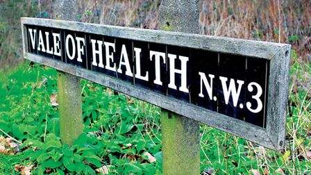 Vale of Health sign