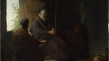 Anna and the Blind Tobit _ Copyright The National Gallery, London 2014