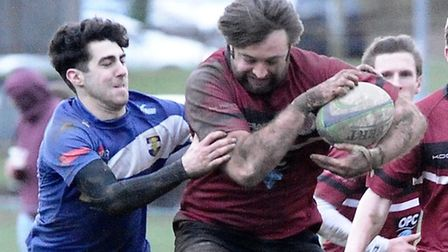 Damir Jovanovic in action for UCS Old Boys. Pic: Nick Cook/UCS Old Boys RFC