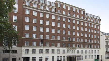 Kenneth Williams' flat in a 1930s block in Bloomsbury is on the market through Frank Harris