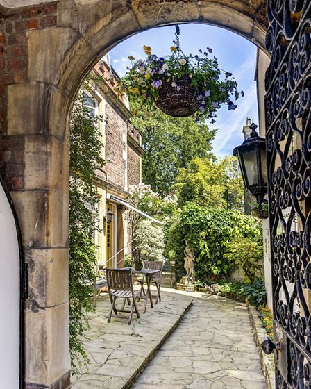 The Turret, a six bedroom Jacobean revival property available through Savills for �3.5 million