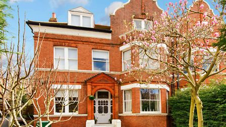 This semi-detached Victorian house is available through Goldschmit & Howland for �5.75 million