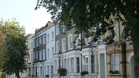 Gayton Road, in Hampstead, is one of countless roads in Camden which would be hit by the mansion tax