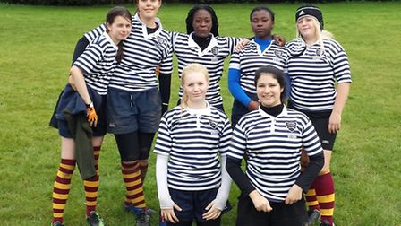Seven of Hampstead RFC's girls have gained Middlesex county honours