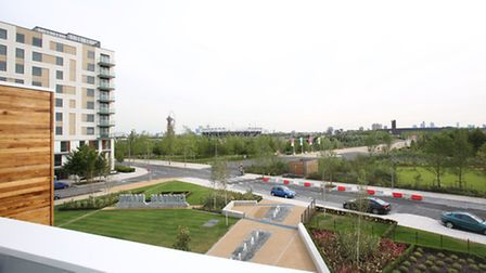 Chobham Manor Marketing Suite and Show Homes at the Queen Elizabeth Olympic Park in Newham.