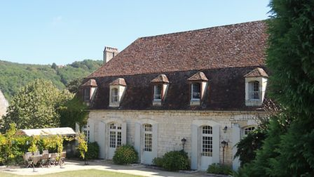A classic French chateau in the Aquitaine region
