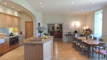 The period property is fully updated inside