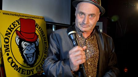 Martin Besseman at Monkey Business Comedy Club, upstairs at The Steeles. Picture: Polly Hancock