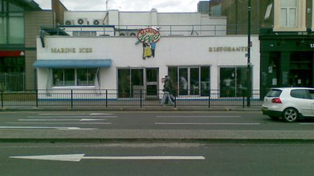 The former home of Marine Ices
