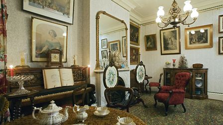 A drawing room in 1870. Photo: Geffrye Museum of the Home/John Hammond