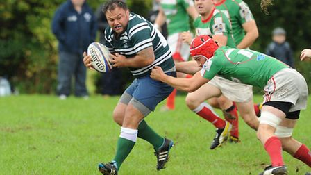 Chris Towndrow scored a second-half try for Hendon. Pic: Paolo Minoli