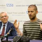 British Ebola sufferer William Pooley (right) recovered after being given the experimental drug ZMap