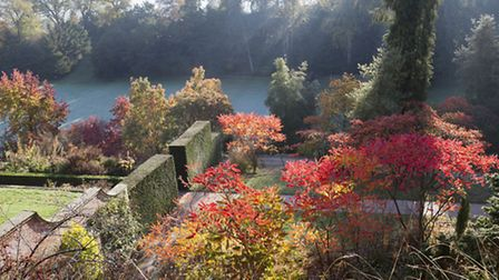 Autumn in the Garden at Powis. PA Photo/National Trust.