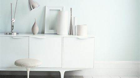 White can be good to brighten a north-facing room. PA Photo/Handout.
