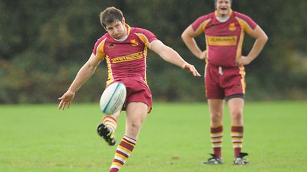 Dan Dimoline's second conversion hit the post as Hampstead unfortunately missed the chance to go ahe