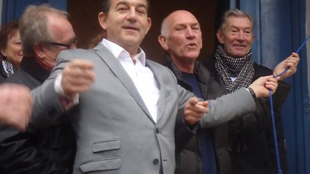 EastEnders actor John Altman, who stared in The Who's 1979 film Quadrophenia, the band's manager Bil