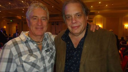 The Who tribute band singer Gary Charman and Belsize Park music publisher David Stark who helped to