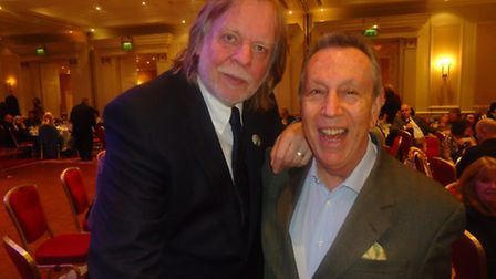 Rick Wakeman and Elliott Cohen at the launch