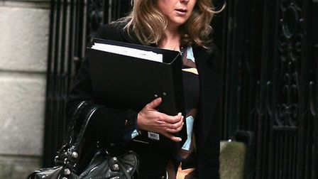 Shelley Mann, 47, outside London's Appeal Court yesterday. Picture: Champion News Service