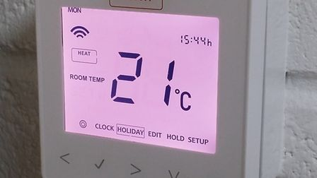 therM Thermostat.PA Photo/Handout