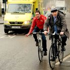 Mayor of London Boris Johnson, right, and Chris Boardman launched a new vision for cycling in London