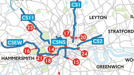 Tottenham's Cycle Superhighway route appeared without fanfare in documents released by Transport for