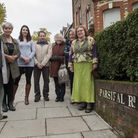 Parsifal Road residents association pictured with Cllr Flick Rae. Picture: Nigel Sutton