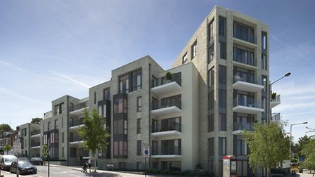 Architects have mocked up an image of what the seven-storey tower on the site of the former Haringey