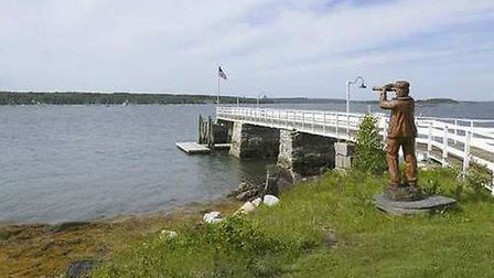 Clapboard Island West, Maine, US, available for £3,878,220 through Private Islands Inc.