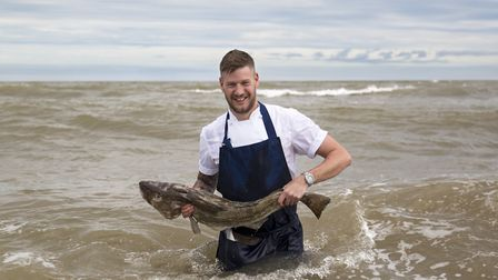 Ross Bott has been appointed executive head chef at the Swan in Southwold. Photo courtesy of Adnams.