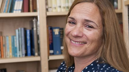 Award winning writer Tracy Chevalier is also taking part in the unique auction. Picture: Nigel Sutto