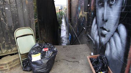 Billy Fury Way in West Hampstead has been named as a fly-tipping hot spot by officers in the council