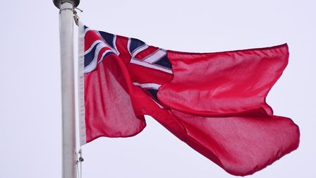 The Red Ensign will be flying at Waveney District Council on Merchant Navy Day on Sunday, September