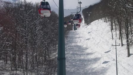 The slopes in Roccaraso