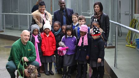 The launch of the new dog pound in Hackney