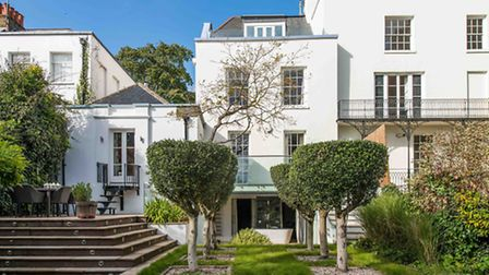 Highgate West Hill townhouse, N6. Available through Benham and Reeves for �4.5 million