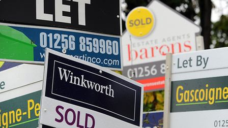 Property prices in Camden saw a quarterly increase of 42 pc this month according to Nationwide