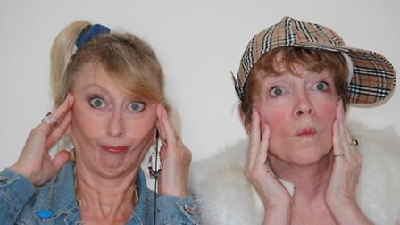 Flip Webster and Maggie Bourgein, comedy duo Women of an Uncertain Age