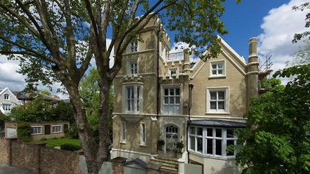 78 Carlton Hill, St John's Wood NW8. The house is available through Savills for £8,950,000