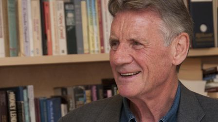 Michael Palin joins other stars to perform readings at the Royal Free Hospital