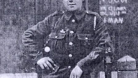 Percy Meadows, who was killed fighting the Germans in Gaza in November 1917