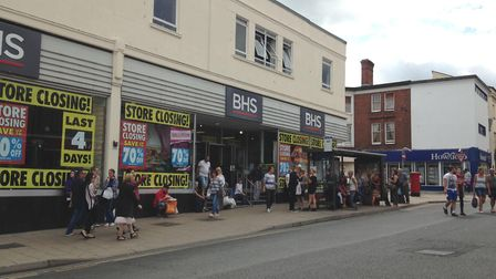 BHS in Regent Street, Great Yarmouth. Picture: George Ryan